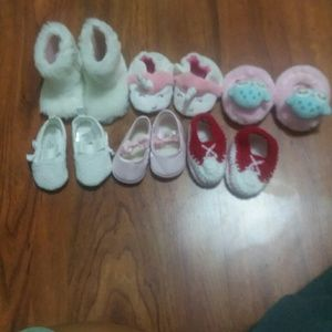 Other - Baby girl NB shoes